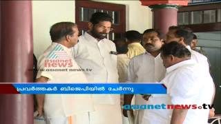 CPIM workers join BJP in trivandrum