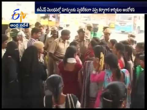 Garment workers' strike jams Hosur Road Bangalore for 7 hours