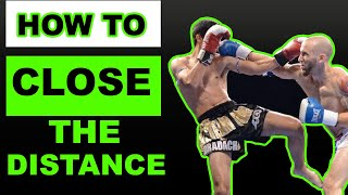 Muay Thai Mondays: How To Close The Distance To Use Boxing Combos