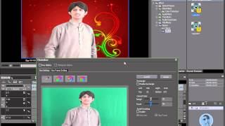 How to change video backgurnd in edius with chroma key