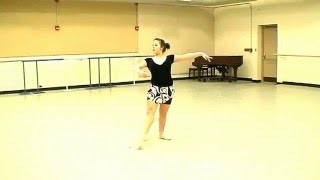 Kinetic Dance Theatre - Courtney audition video