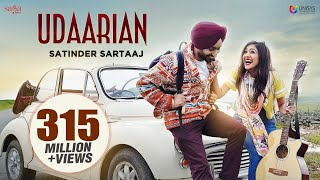 Udaarian (4K Video) - Satinder Sartaaj | Jatinder Shah | Sufi Love Songs | New Punjabi Songs 2018