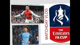 Arsenal (2) Vs Manchester City (1) | We Are in The Final, YES YES YES | FA Cup Semi-Final