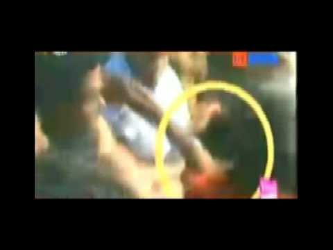 Congress MLA RumiNath Beaten By Mob