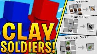 Minecraft CLAY SOLDIERS MODDED BATTLEDOME CHALLENGE - Minecraft Mod