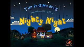 Nighty Night Cartoon w/ Farm Animals for Toddlers! Bed Time Story w/ cows, pigs, dogs & more