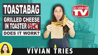 Toastabags Review, Cool Kitchen Gadgets, Vivian Tries