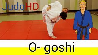 Weiß- Gelb: O- goshi [Judo]
