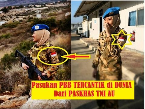 """TERCANTIK"" Prajurit WARA United Nations Pasukan Perdamaian PBB dari PASKHAS TNI AU"