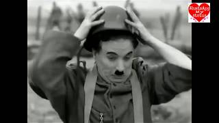 Charlie Chaplin funny comedy video in Army