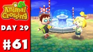 Animal Crossing: New Leaf - Part 61 - Fountain (Nintendo 3DS Gameplay Walkthrough Day 29)