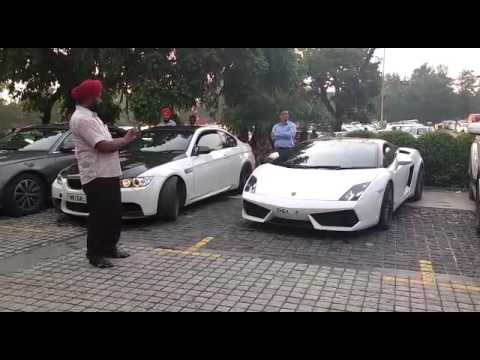 Sound of two beautiful car in chandigarh