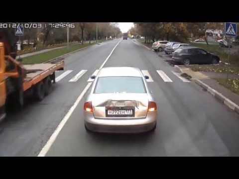 Rusya dan İlginç Trafik Kazaları HD 1080p
