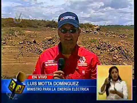Entrevista Venevisión Luis Motta Domínguez ministro de Energía Eléctrica