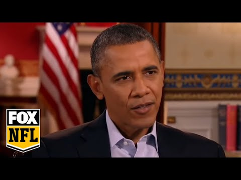 Bill O Reilly interviews President Obama before the Super Bowl