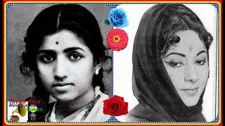 LATA JI & GEETA ROY-Film-NAACH-[1949]~Chhak Chhak Chali Hamari Rail,Ye Hai Aag Paani Ka Khel-[78R
