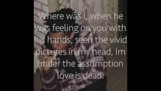 XXXTentacion -Dead Inside Lyrics