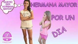 HERMANA MAYOR POR UN DIA/ COLABORACION / LA DIVERSION DE MARTINA
