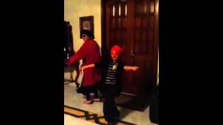Funny dance, hay hay mirchi uf uf morchi