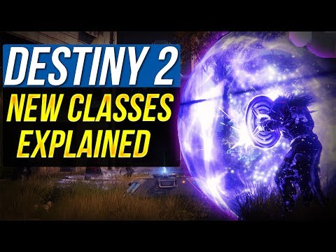 DESTINY 2 NEW SUBCLASSES and ABILITIES Explained Sentinel Arcstrider Dawnblade