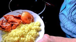 """Cooking Guinea Pig """"CUY"""" in Cusco, Peru. Street Food"""