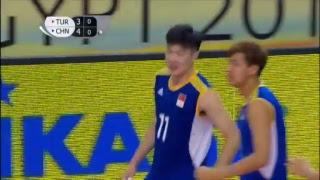 TUR vs CHN 2017 FIVB Men