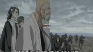 Bleach movie 2 Diamond Dust Rebellion part 7/10 english subbed