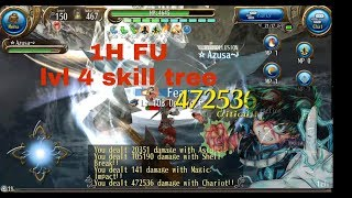 Toram Online - New build 1H FU lvl cap 150 (lvl 4 skill tree)
