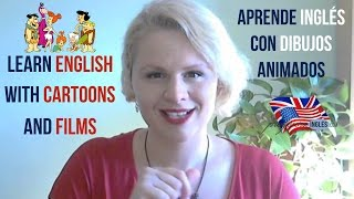 Learn English watching cartoons, films and series for children