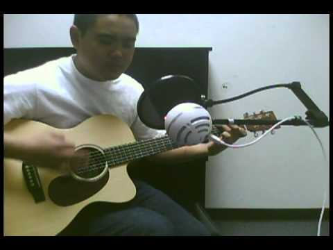 Phil Wickham - Beautiful in C (Acoustic Cover)