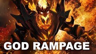 GOD Unstoppable RAMPAGE - ALLIANCE VP Major Dota 2