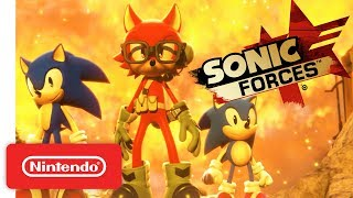 Sonic Forces Launch Trailer - Nintendo Switch