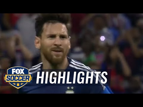 Messi breaks scoring record with fantastic free kick 2016 Copa America Highlights