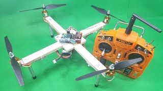 How to make a 350 Brushless Quadcopter