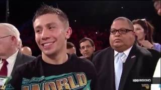 Golovkin vs Dominic Wade Full Fight HBO