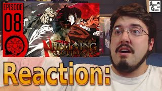 Hellsing Ultimate Abridged Ep.8: Reaction #AirierReacts