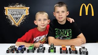 MONSTER JAM TOY REVIEW McDonald