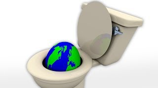 What Would Happen If We Flushed All The Toilets At The Same Time Vlog#8 HooplakidzLab