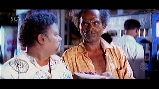 ಯೇ.. ಕಬಾಬ ದುಡ್ಡು ನಿಮ್ಮ ಅಪ್ಪ ಕೊಡ್ತನಾ ? Biradar scares Sadhu Kokila Ultimate Kannada Comedy Scenes