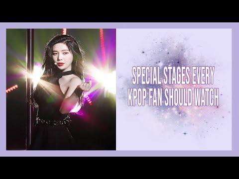 Special Stages Every Kpop Fan Should Watch