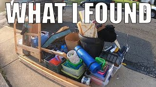 I FOUND ALL OF THIS IN THE TRASH FOR FREE - Trash Picking Ep. 146