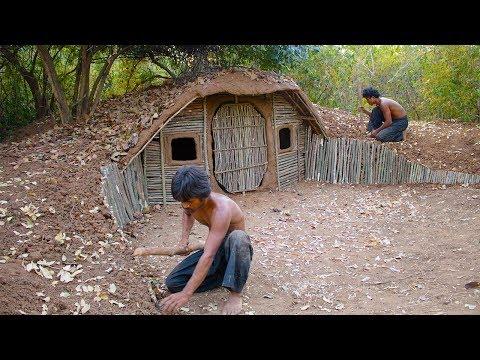 Xxx Mp4 Build House Underground Using Wood Primitive Technology Building Skill 3gp Sex