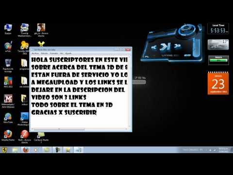 TEMA 3D WINDOWS 7 LINKS DE DESCARGA 83GDR 2012 MEDIAFIRE