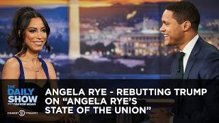 """Angela Rye - Rebutting Trump on """"Angela Rye's State of the Union"""" 