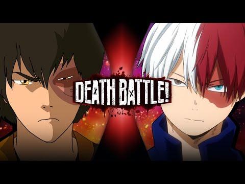 Zuko VS Shoto Todoroki Avatar VS My Hero Academia DEATH BATTLE