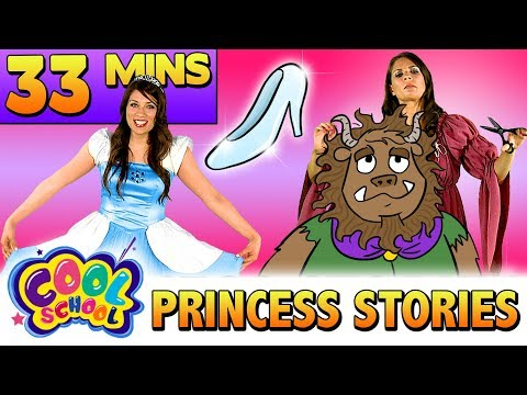 Cinderella & Other Princess Fairy Tales Compilation