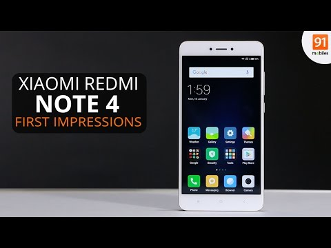 Xiaomi Redmi Note 4: First Look | Hands on | Price [Hindi-हिन्दी]