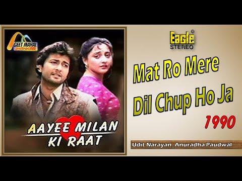 Mat Ro Mere Dil Chup Ho Ja Hua Jo Hua((Eagle Jhankar)) Aayee Milan Ki Raat(1990))_with GEET MAHAL