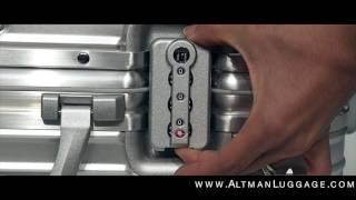 Rimowa Topas & Limbo - How To Set TSA Lock on Rimowa Topas & Limbo