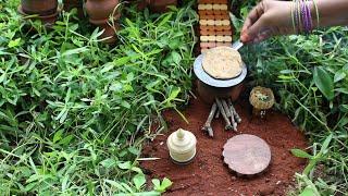 Miniature Aloo Paratha | Aloo Paratha Recipe | Miniature Cooking #19 | mini foodkey